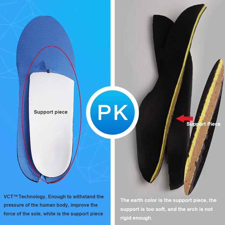 Оптовая продажа 2018, ортопедические стельки для обуви с поддержкой свода стопы хорошего качества