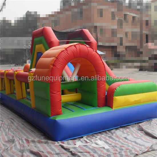 Funny large inflatable comb obstacle course party rentals Inflatable obstacle course for team events