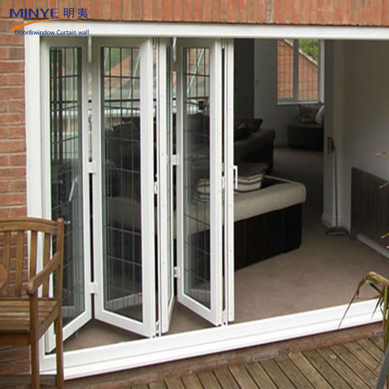 Garden And Balcony Used Exterior Doors Lowes Bi Fold Door French Doors For Sale View Lowe Bi Fold Door Minye Product Details From Shanghai Minye Decoration Co Ltd On Alibaba Com