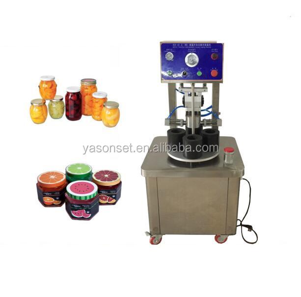 Automatic Glass Bottle Vacuum Sealing Machine Capping Machine Buy Capping Machine Jar Vacuum Capping Machine Jar Sealing Machine Product On Alibaba Com