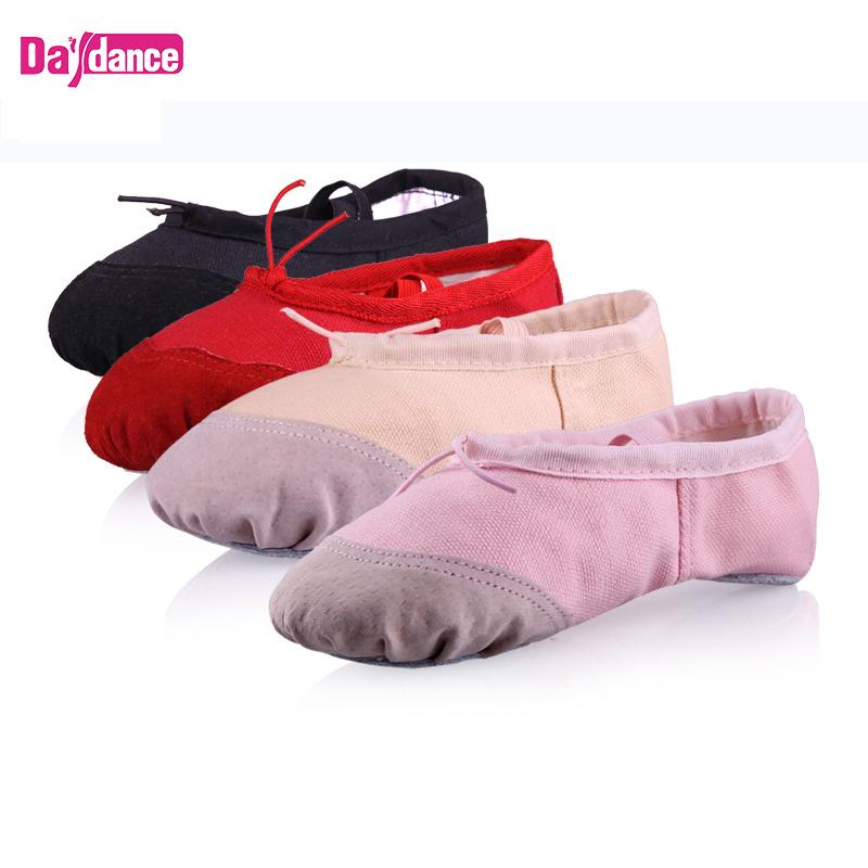 Cheap Kids Soft Split Sole Ballet Shoes Factory