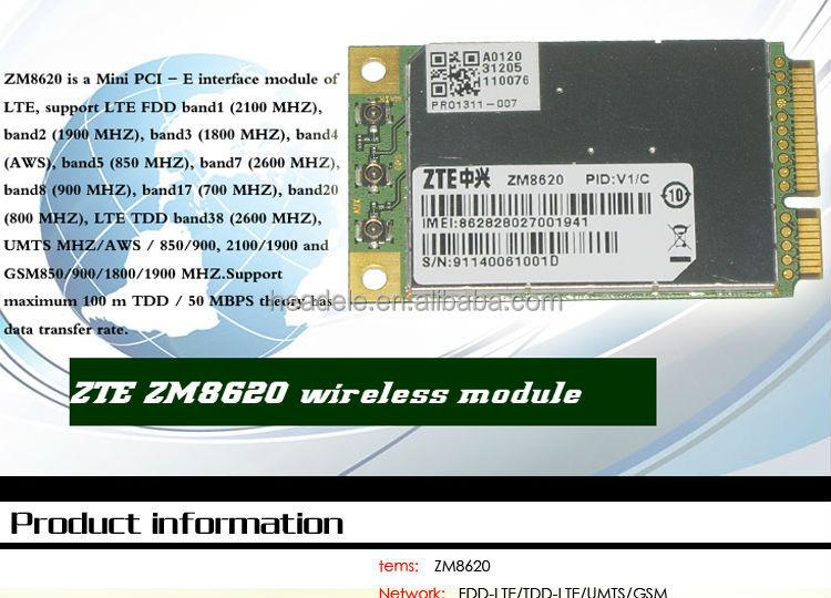 fdd lte 4g modem zte zm8620