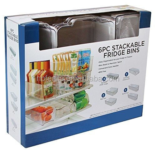 N//F Mokinga Organizador Frigorifico Partici/ón De Vegetales para Refrigerador De 2 Piezas Caja De Almacenamiento para Cajones De Refrigerador Adecuada para Almacenar Productos L/ácteos