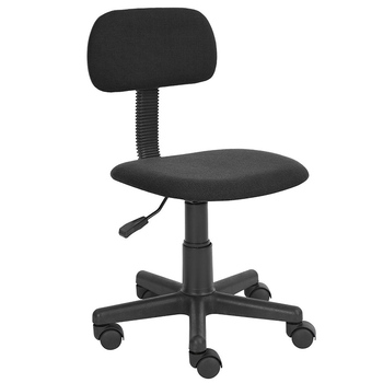 Foshan Aoda Furniture Small Fabric Nylon Base 360 Degree Swivel Computer Task Economic Basic Kids Chair Office without Armrest