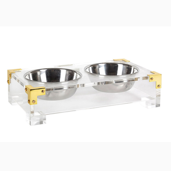 4 Compartment Acrylic Display tray plexiglass box Box with 2 Section Sizes belt tie display tray for market