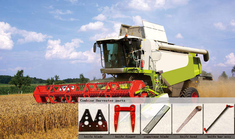 Combine Harvester Knife finger for Agricultural blade guard