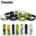 Popular Camouflage Silicone Strap For Xiaomi For Miband 1s 1a Smart Wristband Belt Replacement Band Bracelet