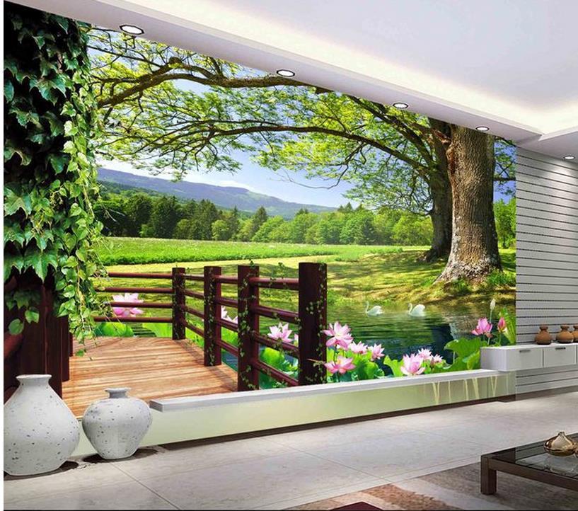 Home Garden Design Ideas Hd Desktop Wallpaper Instagram: Moderne Mur 3D Peintures Murales Papier Peint, Hd 3D