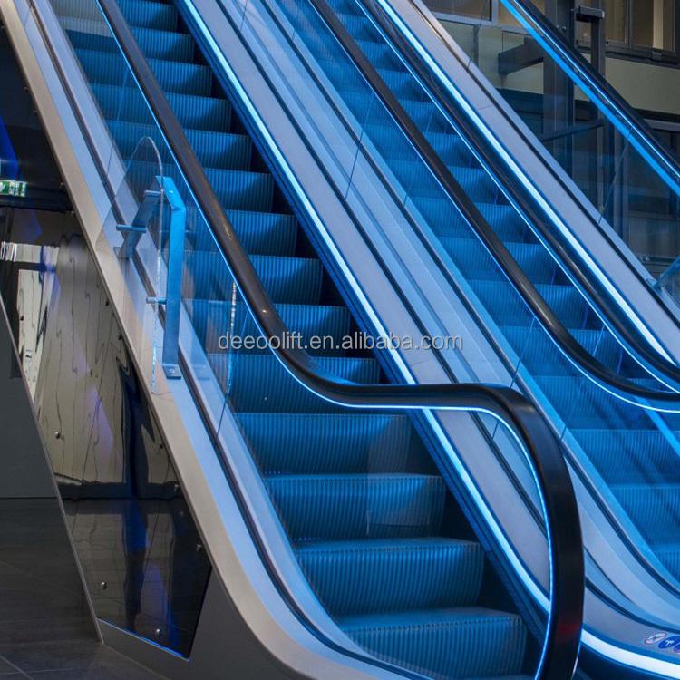 Ступенчатый автоматический эскалатор для лифта торгового центра