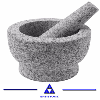 2020 China Bush hammered stone mortar & pestle