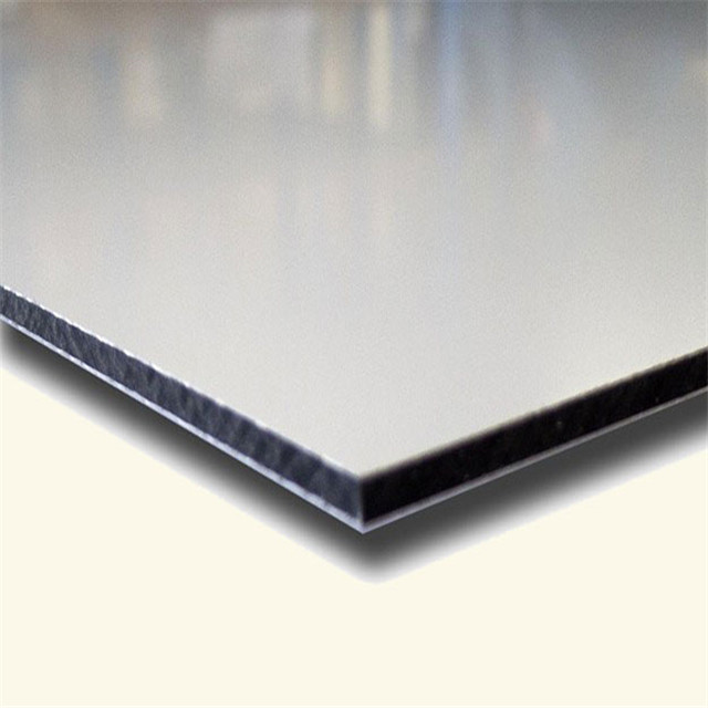 3 мм 6 мм серебристо-черный белый матовый dibond 3 мм алюминиевая композитная панель