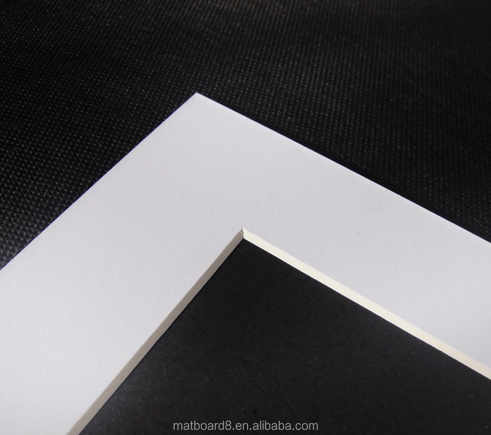 Frame Type Bevel Cutting 45 Degree Matboard For Picture Photo Precut Mount Board Mat Product On Alibaba
