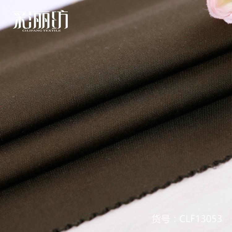 Эластичная подкладка костюма, полиэстер, вискоза, спандекс, одинарная трикотажная ткань с сильным шерстяным профилем