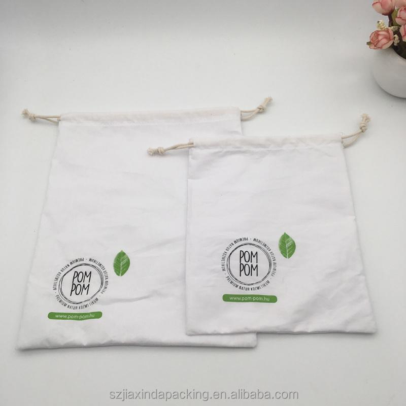 Индивидуальный муслиновый Хлопковый чехол для упаковки