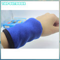 Outdoor Running Soft Absorb Sweat Wrist Band Wallet Safe Storage Wallet Zipper Wrap Sport Strap Bracers