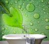 Salle de bains papier peint 2