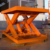 High quality 1000kg hydraulic small scissor lifting platform