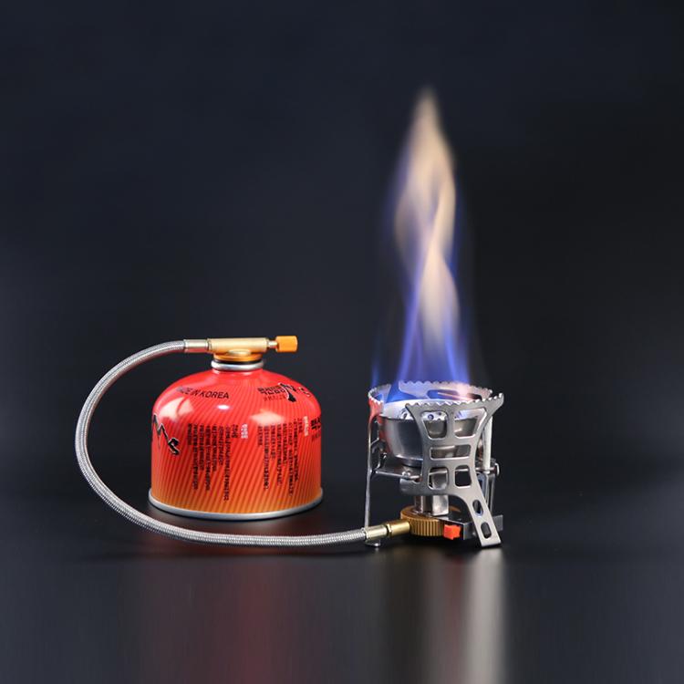 Горячая Распродажа портативная газовая плита для приготовления пищи на природе Мини Складная плита для кемпинга пеллетная плита