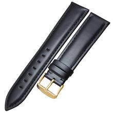 Ремешок для часов, из натуральной кожи высокого качества, 18 мм, 19 мм, 20 мм, 21 мм, 22 мм, 24 мм(Китай)