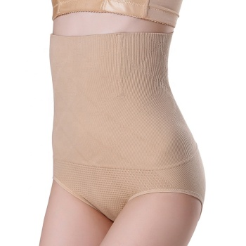 1102 Women High Waist Seamless Tummy Control Slimming Shapewear Panties