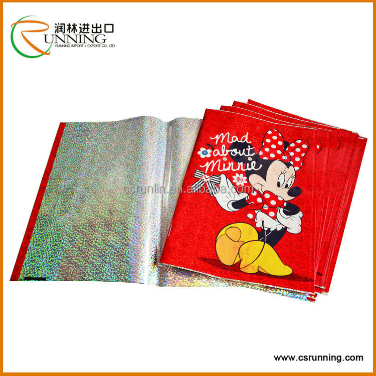 Printed Mickey Mouse Laser/Hologram Book Cover