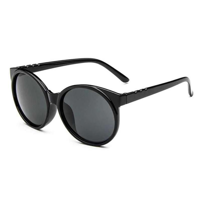 Ретро круг большой рамочный прозрачный цвет в путешествие солнечные очки защита от ультрафиолетовых лучей, Хм и TGS004 15 цвет мужчины женщины солнечные очки