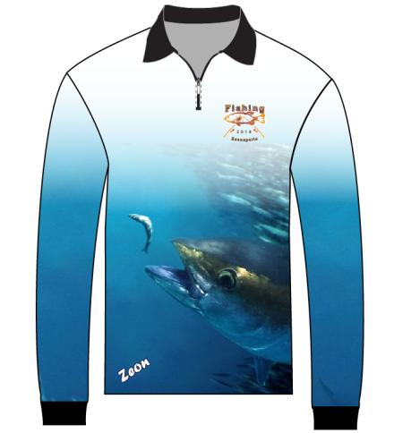 Заводская цена, индивидуальная Защита от УФ-лучей, 1/4 рыболовная рубашка на молнии, высокое качество, Джерси для рыбалки
