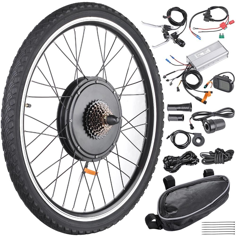 48V 1000W Electric Bike Conversion Kit with Optional lithium battery