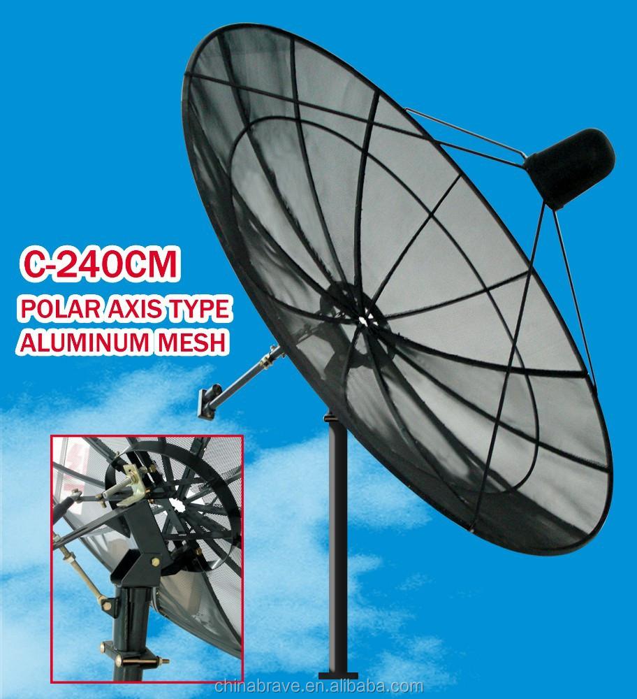 Antena De Malla Para Antena De Tv Antena Parabólica De 240cm Buy Antena De Malla Satelital Para Banda C China Precio De Fábrica Antena De Malla De 3 0 M De Espesor Estándar Del