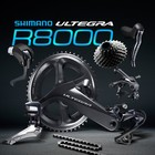 Bicycle parts Ultegra R8000 11 speed groupset with clamp brake