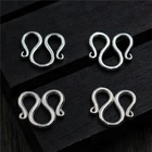 925 Sterling Silver Bracelets Necklaces Clasps Toggle Hooks DIY Handmade M W Design Jewelry Components