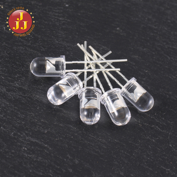Factory Wholesale Dip warm white Color Candle Flickering 5mm LED