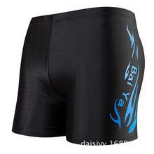 Профессиональные качественные водонепроницаемые мужские плавки, мужские плавки, плавки, шорты для мужчин, купальный костюм(Китай)