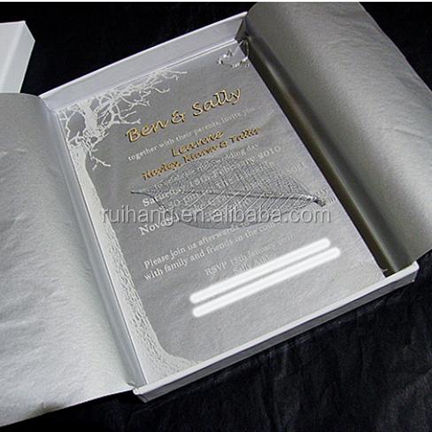 wholesale top grade luxury wedding card invitation acrylic glass card wedding invitation buy clear beautiful wedding surprise invitation with silk