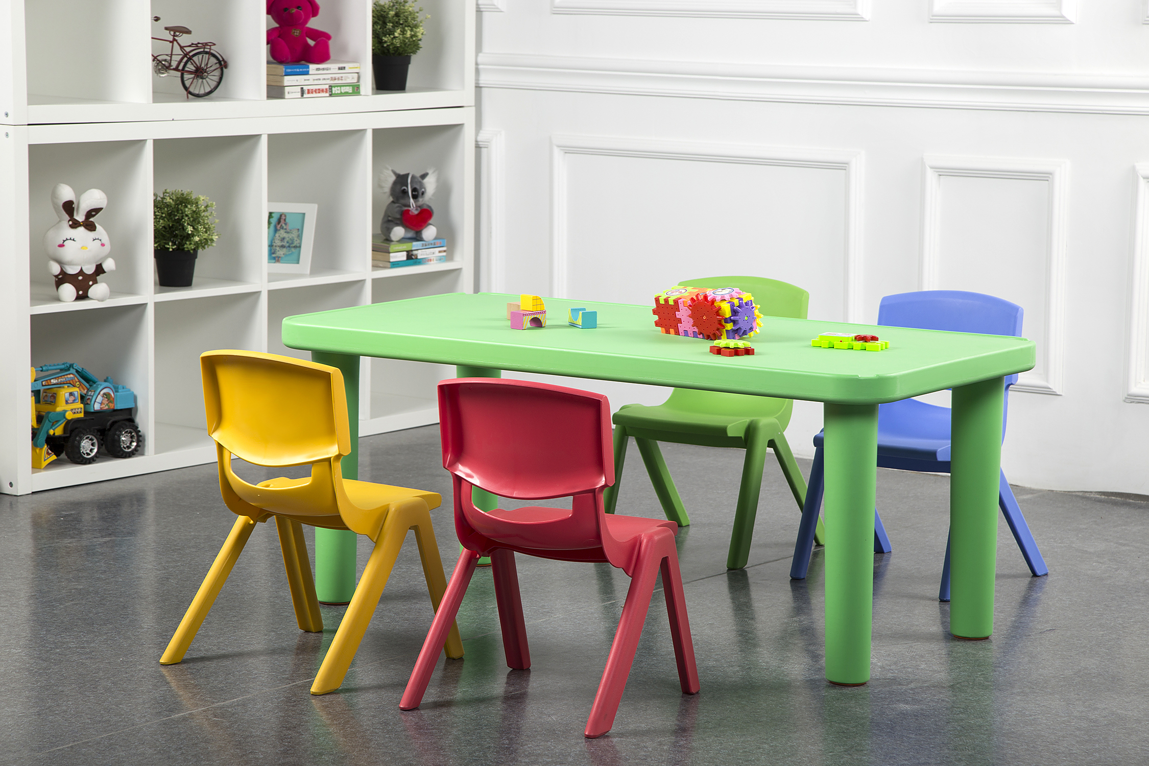 Фабрика OEM, Штабелируемая мебель для детского сада, цветной необычный пластиковый дешевый детский пластиковый стул pp