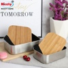 18cm bamboo lid lunch box