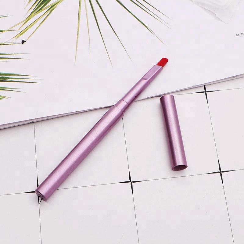 Plastic Automatic Makeup Lip Pencil Customize Color Waterproof Lip Liner