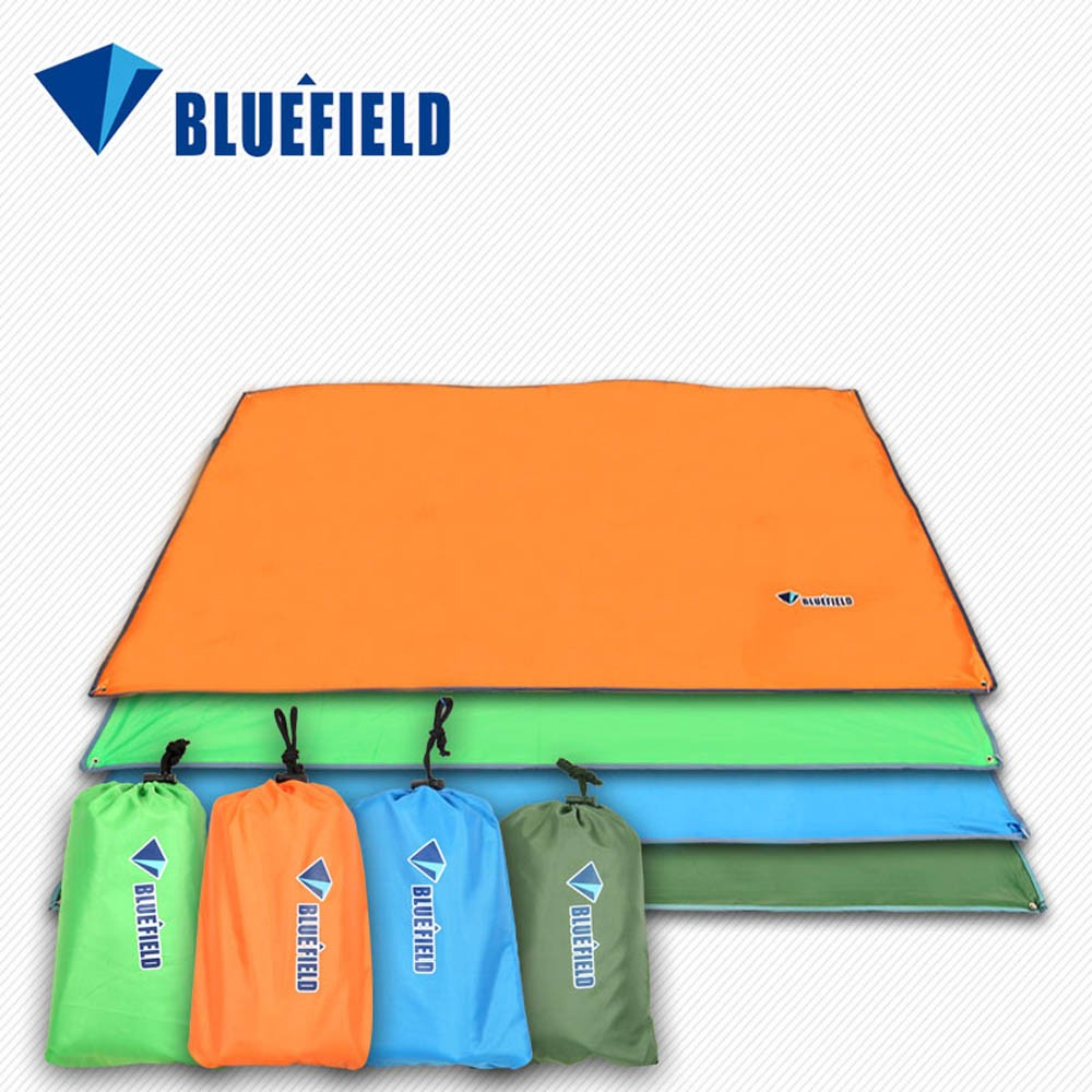 Bluefield Ultralight Adult Outdoor Sleeping Bag 215*65cm Polyester Pongee Portable Single Sleeping Bag For Camping Travel 100% Original Sports & Entertainment