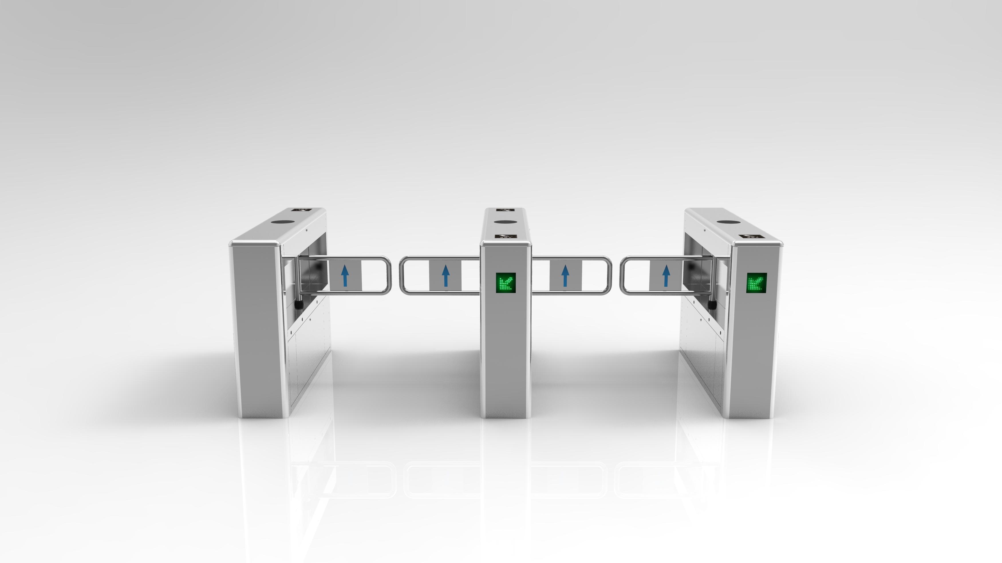 Автоматическая Rfid Speedlane-калитка Swing Gate для контроля доступа по отпечаткам скоростные ворота