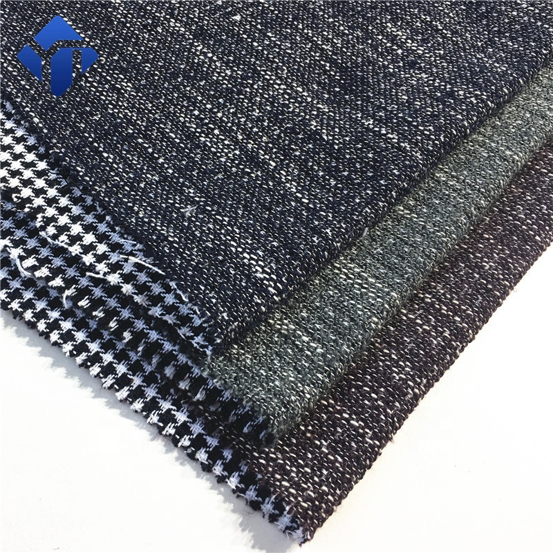Изготовленная на заказ шерстяная тканая Красивая пряжа для женских курток