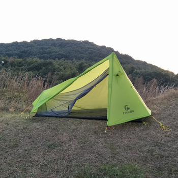 Custom Single Light Hiking Camping Tent 1 Person Used