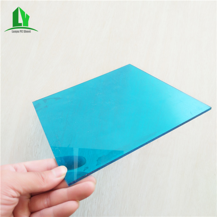 3mm transparent bright sun anti fog polycarbonate sheet