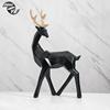 B look back deer black