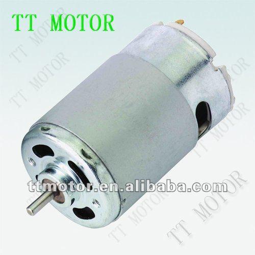 Электродвигатель постоянного тока 12 В 550 и постоянный магнит для электродвигателей постоянного тока 12 В