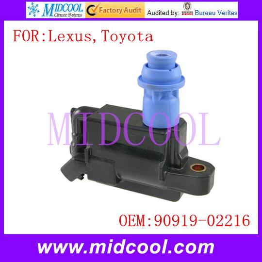 Новый катушка зажигания использования OE no. 90919 - 02228, 88921383 для Lexus Toyota