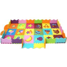 Детский мягкий коврик-пазл из ЭВА, детский игровой коврик, пазл с животными/буквами/мультяшный игровой коврик из ЭВА, коврик для пола для дет...(Китай)