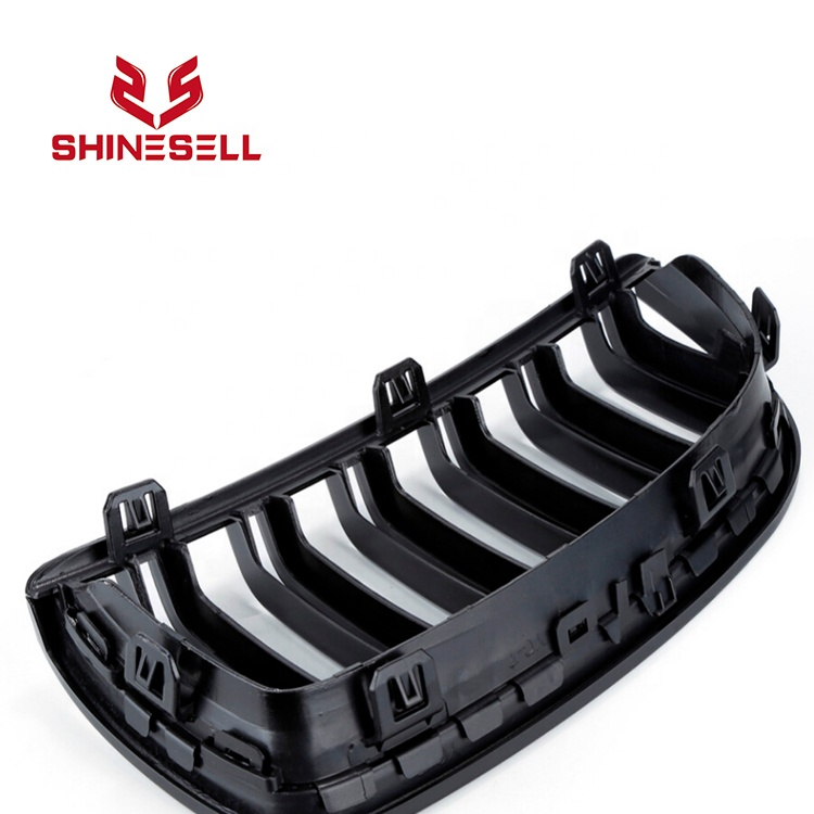 1 Pair Three color Double Slat Line Front Grille Kidney grill for BMW 3 Series E90 E91 2005 2006 2007 <span style=