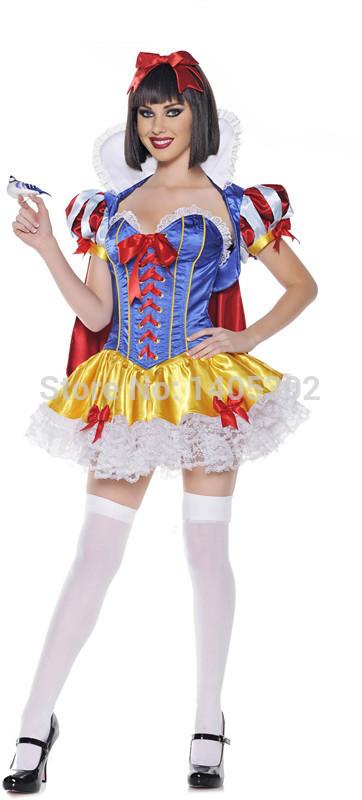 You sexy snow white halloween