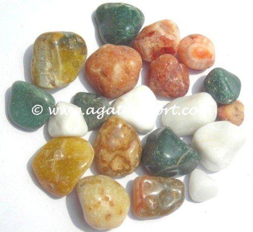 Разноцветные камни гальки: Оптовая продажа гальных камней