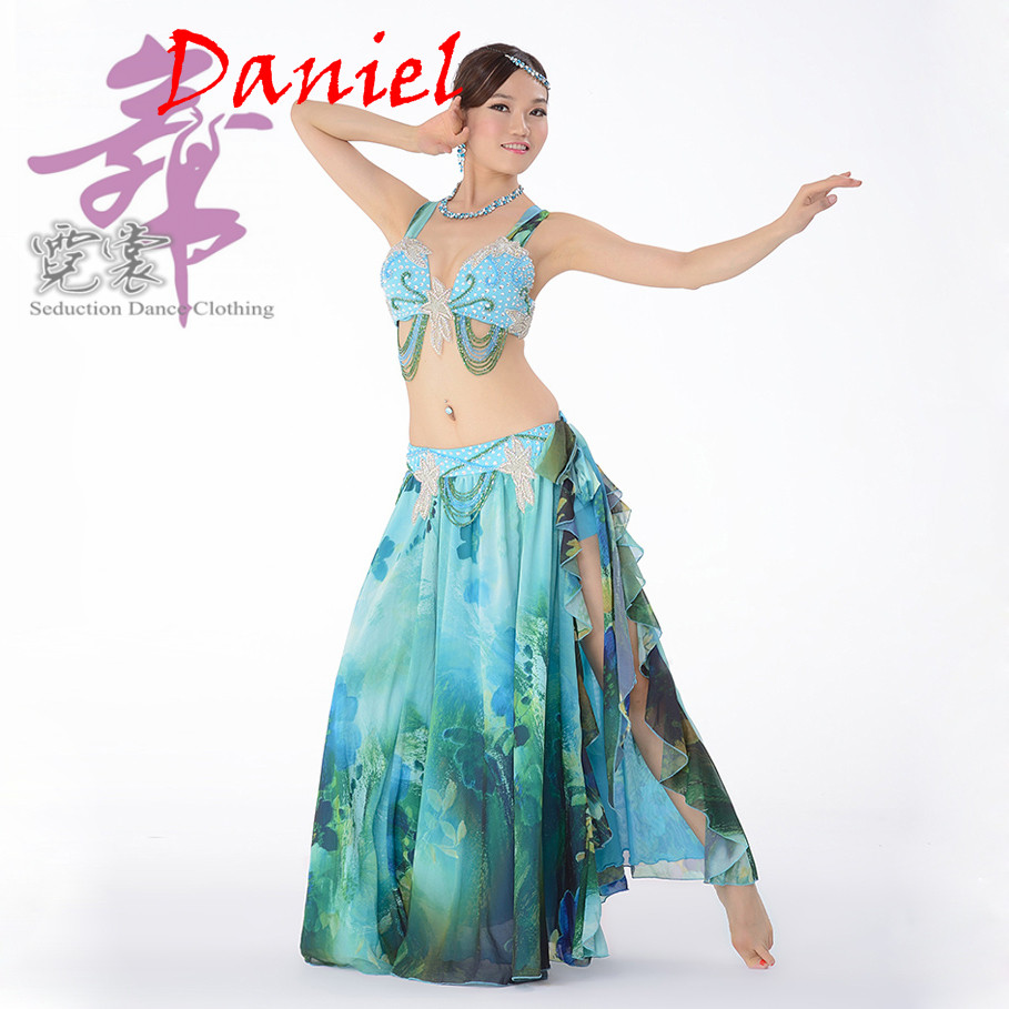Stage Performance Egyptian Belly Dance Clothes 2 piece ...